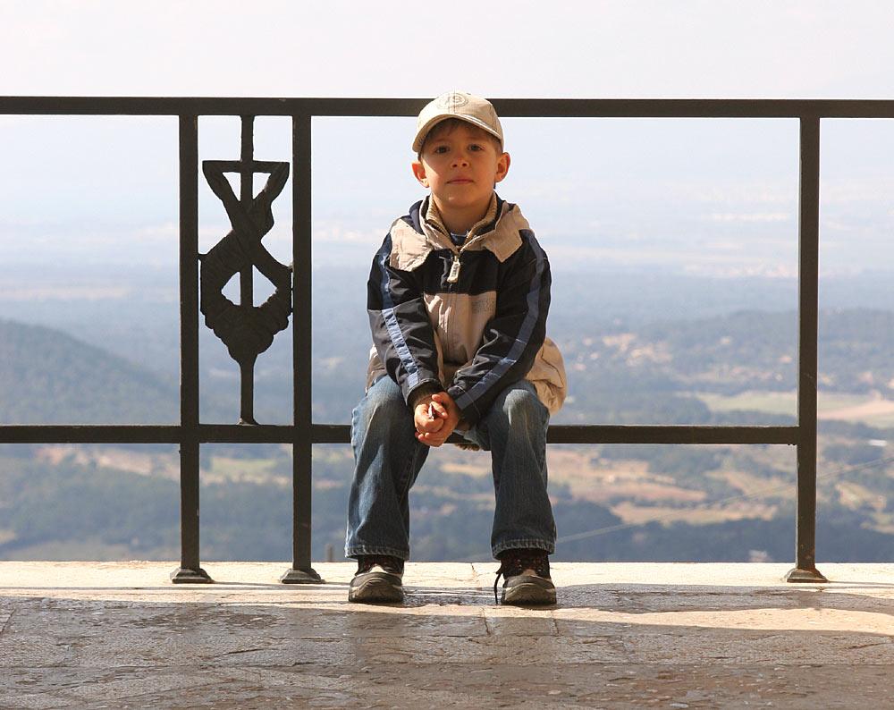 Phillip auf dem Puig de Randa