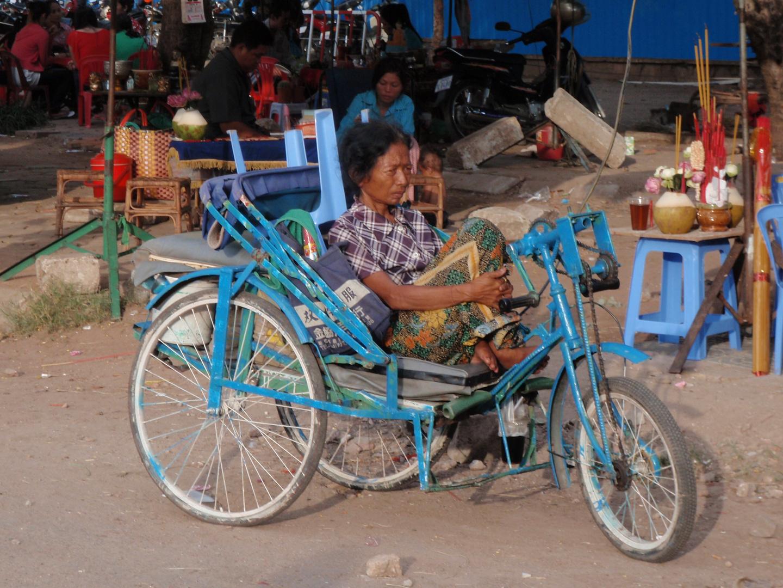 phnom penh strassenszene, cambodia 2010