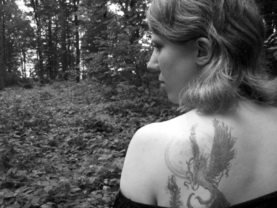 Phoenix im Wald
