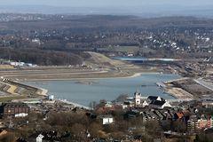 Phönix See Dortmund aus Sicht des Florianturms