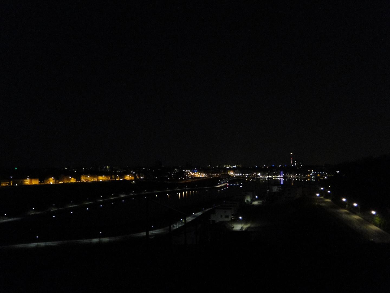 Phönixsee bei Nacht