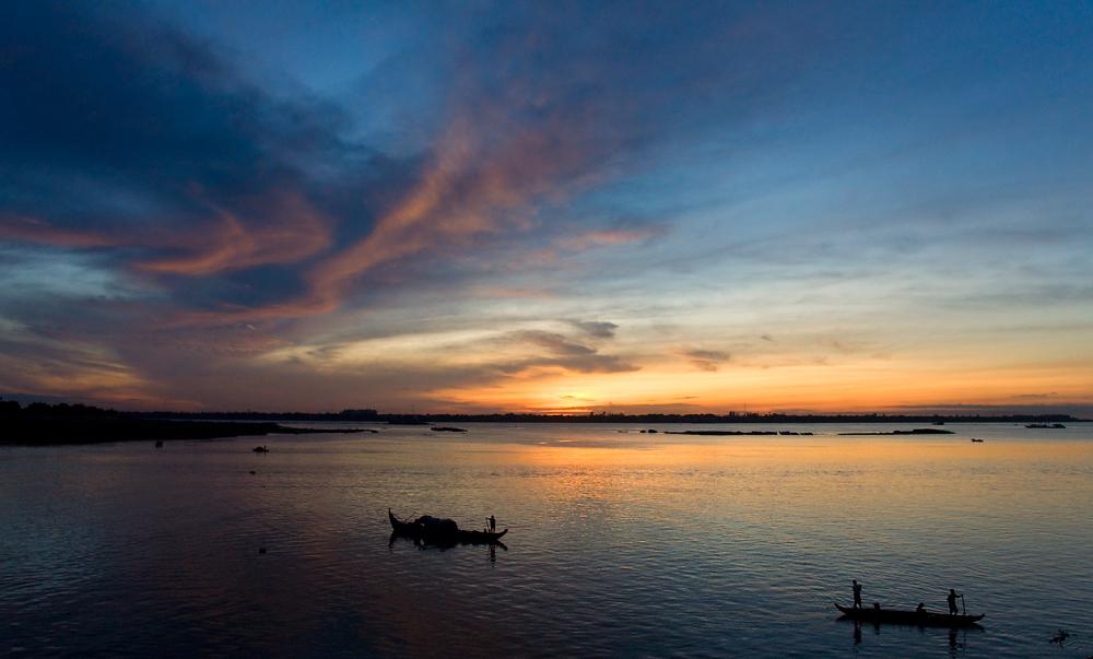 Phom Penh am Morgen
