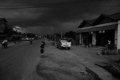 Phonsavan vor dem Regen