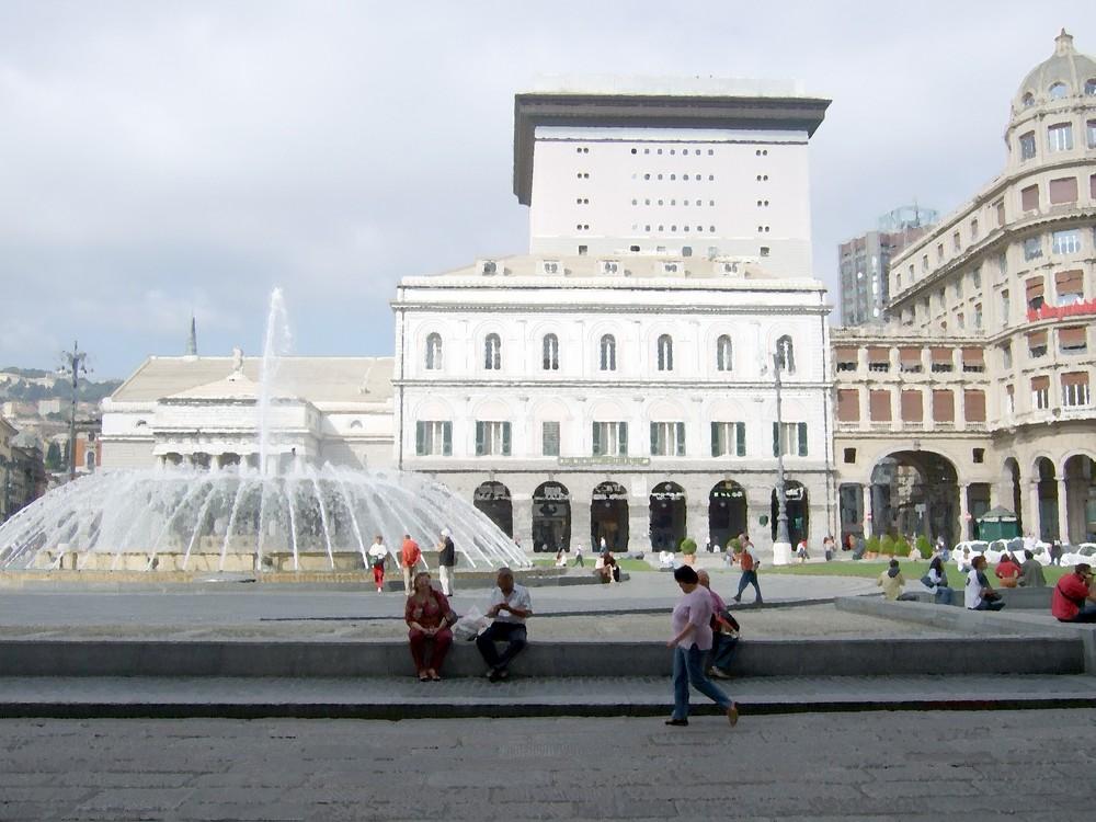 Photo Acquarelle de Genova