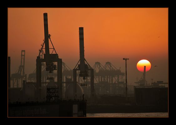 Photo de coucher de soleil...
