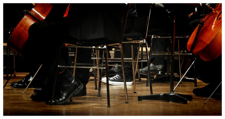"""Photo Project """"9 to 99 THE Orchestra"""" #1"""