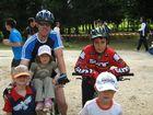 photo sportive en famille