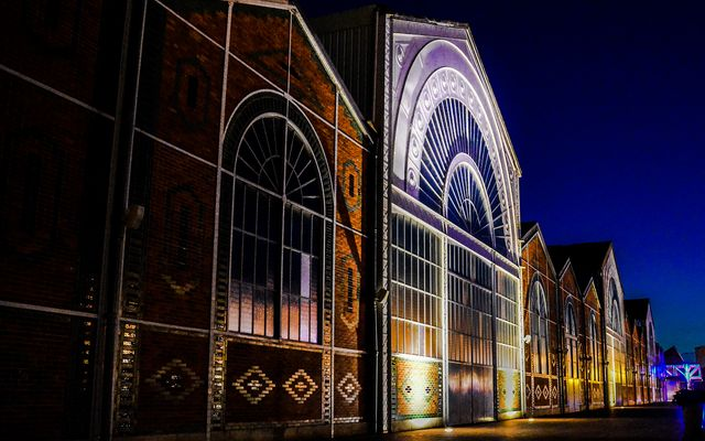 photo vierzon by night