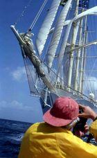 Photoaction on sea_STAR CLIPPER BEIM ANTIGUA CLASSIC RACES
