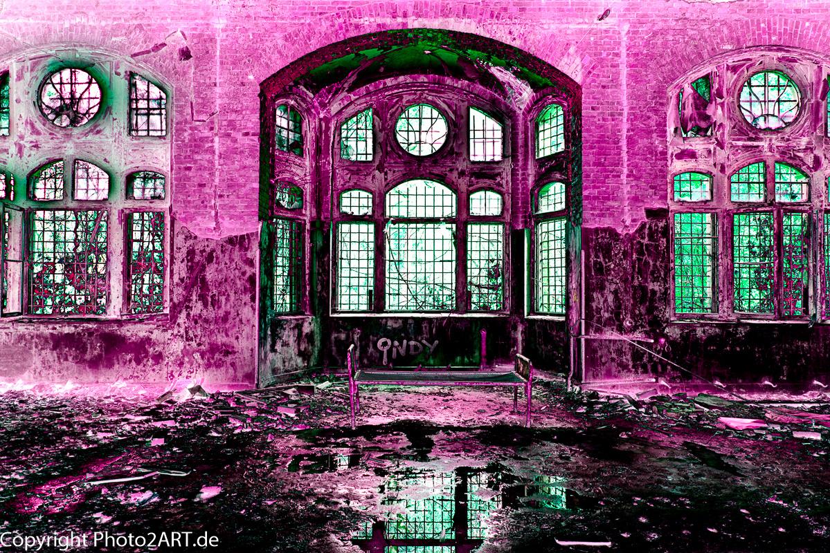 PhotoART: Beelitz Heilanstalt