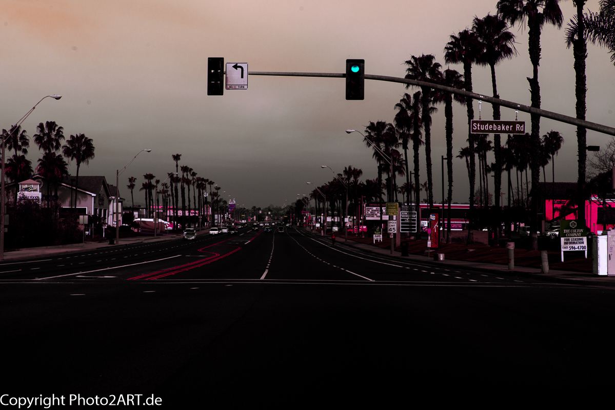 PhotoART: California Road