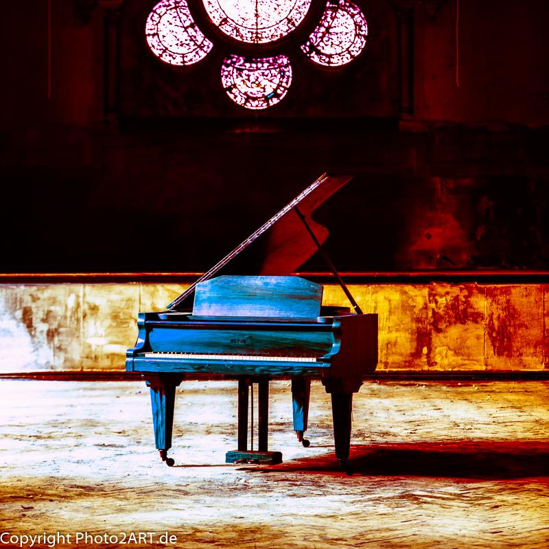 PhotoART: Klavier im Saale