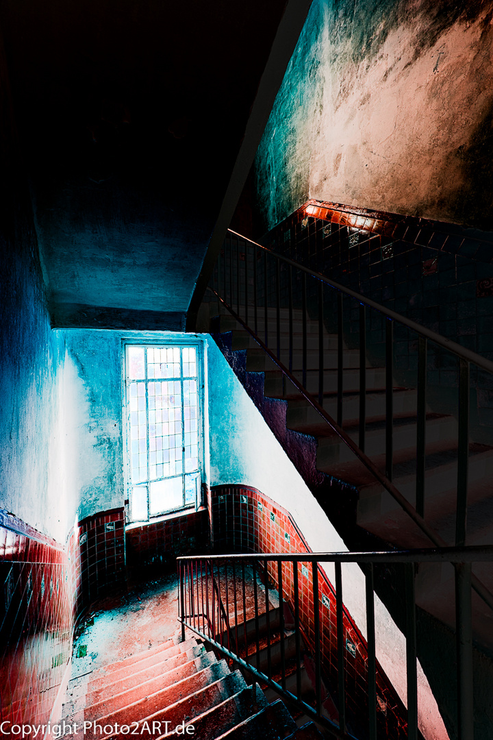 PhotoART: Treppenhaus 2 Beelitz