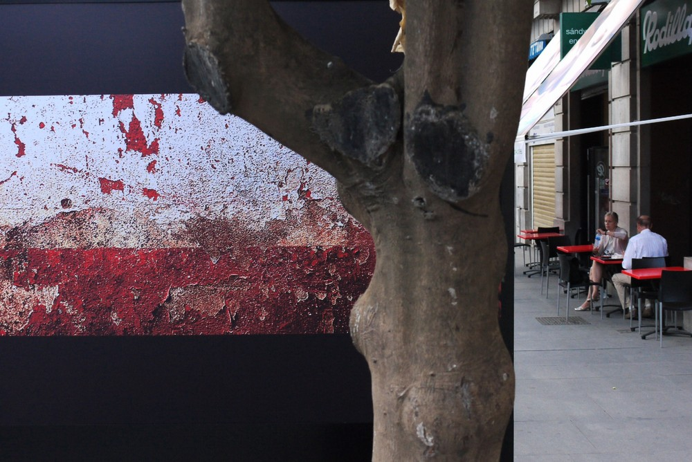 Photos dans une rue de Séville