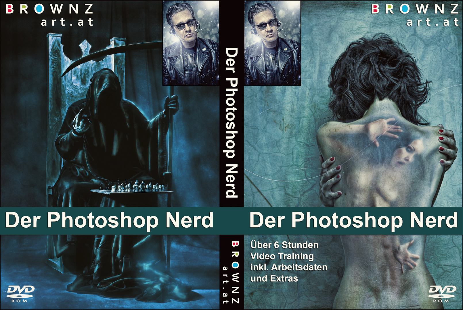 Photoshop Nerd - Coverlayout
