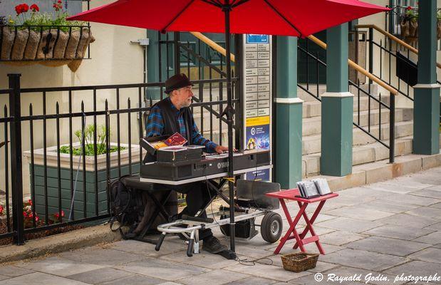 Pianiste de la rue