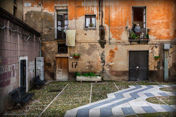 Piazza Carlo Alberto - Castello, rione di Cagliari -