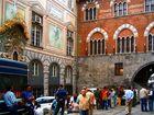 Piazza della Raibetta- mercato-Palazzo S.Giorgio. Genova