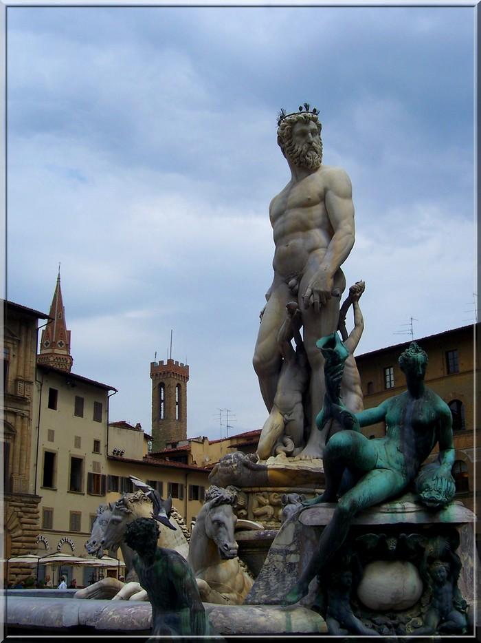 Piazza della Signoria - Neptun fontain
