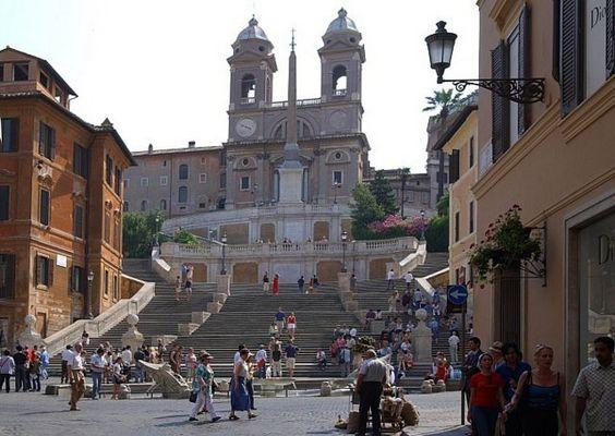 Piazza di Spagna - Spanische Treppe