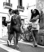 ...Piazza Garibaldi...incontro di mondi...