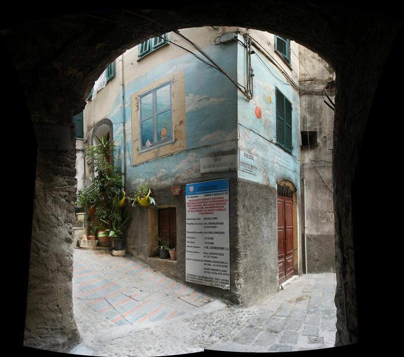 Piazza Giobatta Brezzo a Badalucco