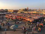 Piazza Jamaa El Fna - Marrakech Medina