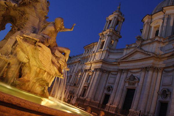 Piazza Navona: Bernini VS Borromini