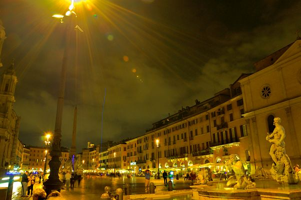 Piazza Navona By Night Sinfonia di luci
