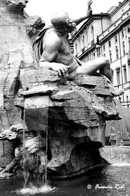 Piazza Navona - La fontana dei 4 fiumi