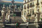 Piazza Pretoria - Palermo (rechts, Walter Braunewell) im Jahr 1993