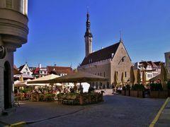 Piazza Raekoja - TALLIN (Estonia)