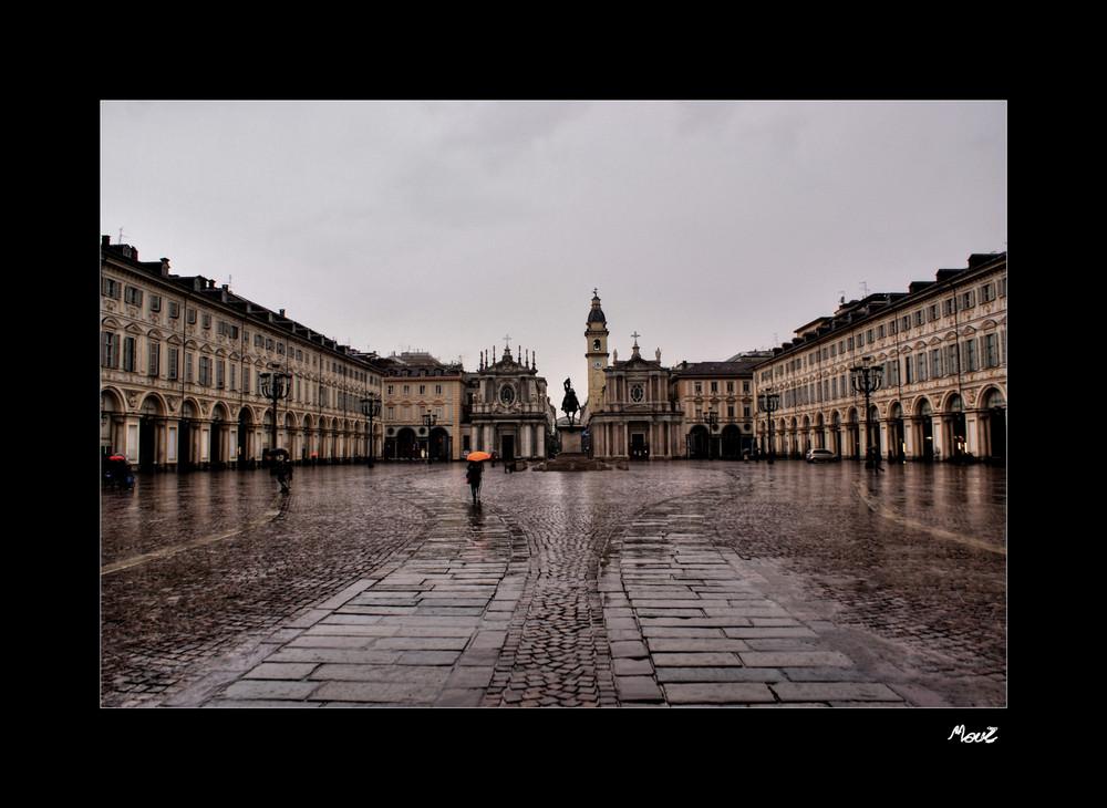 ... Piazza S. Carlo a Torino....