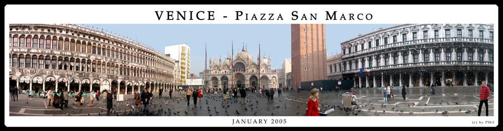 Piazza San Marco, Januar 2005