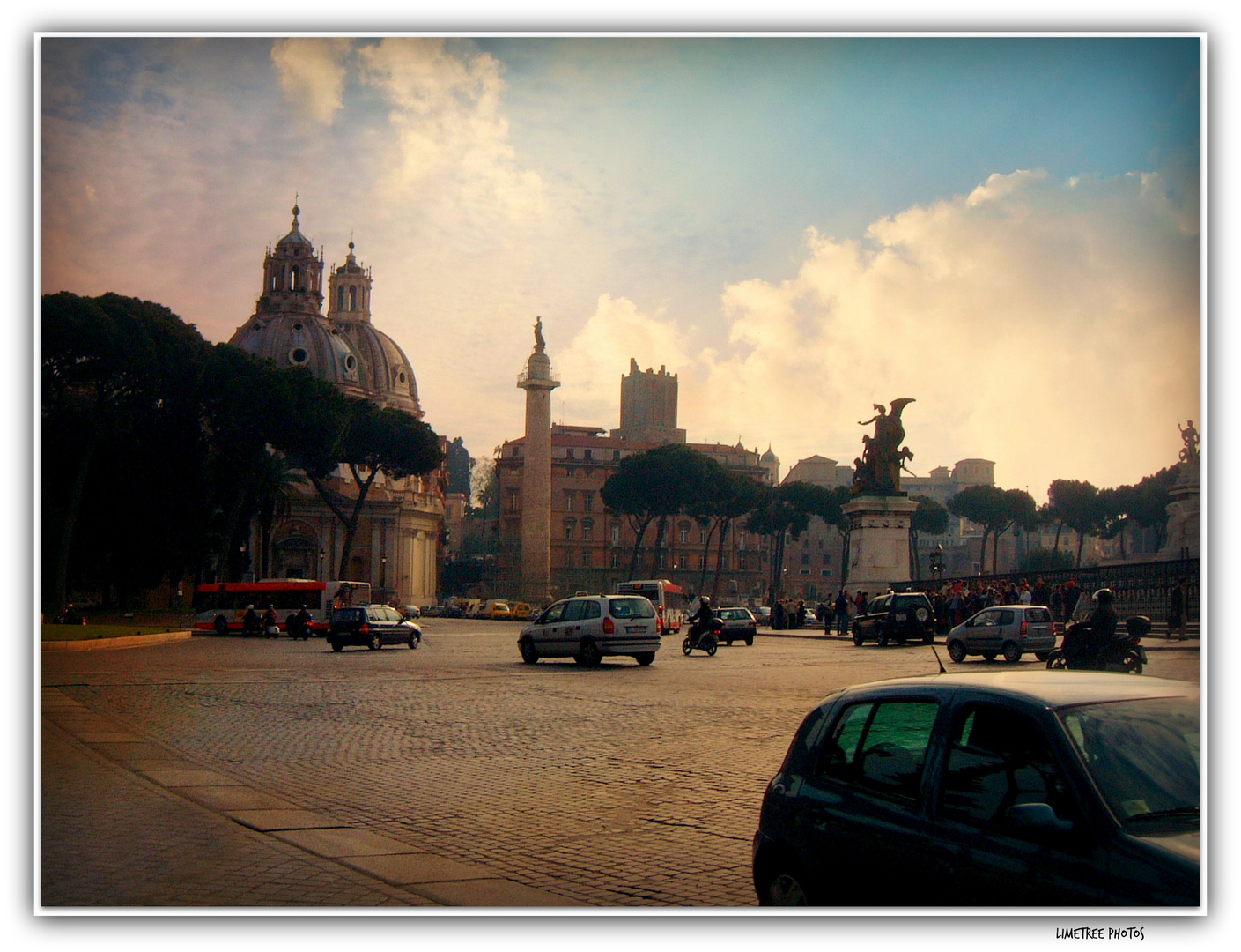 Piazza Venezia in the Afternoon