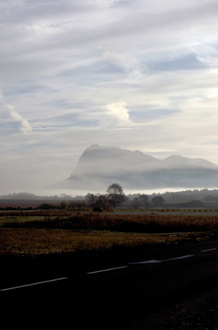 pic st loup early morning