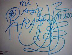 Picasso & Miró – Gemeinsamkeiten …