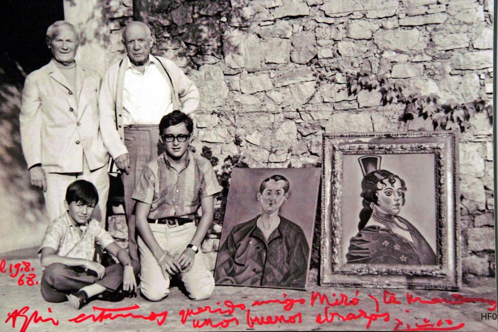 Picasso Postcard
