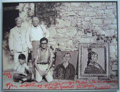 Picasso und Miró 1968 in Sóller