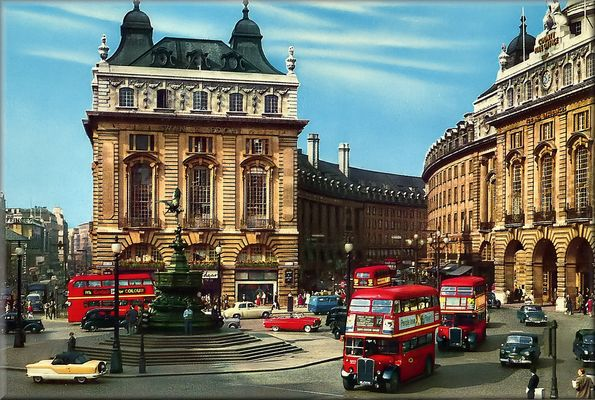Piccadilly circus...