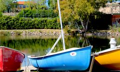 piccole Barche a Colori