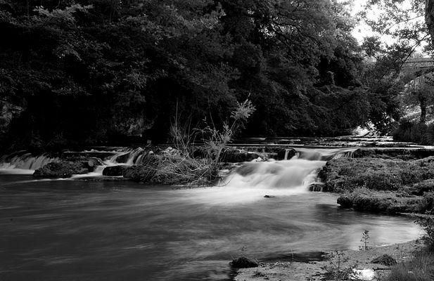 piccole cascate fiume elsa