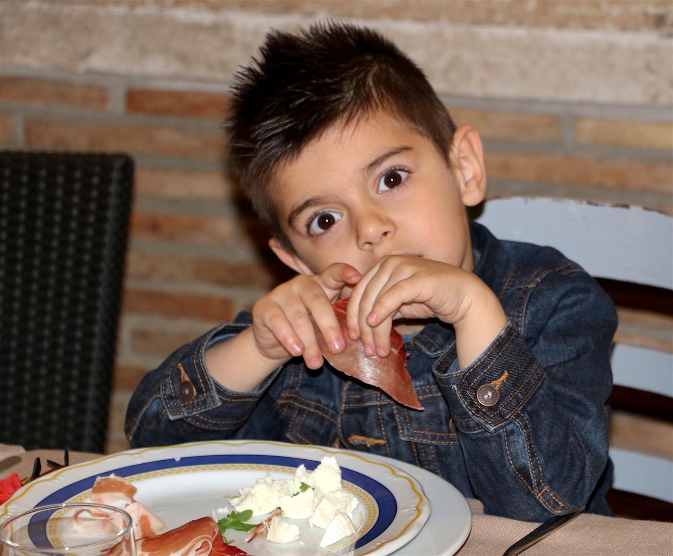 piccoli Italiani crescono...