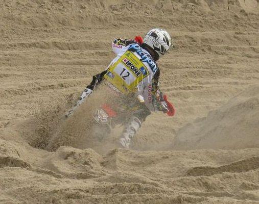 Pichon im Sand Le Touquet 2009