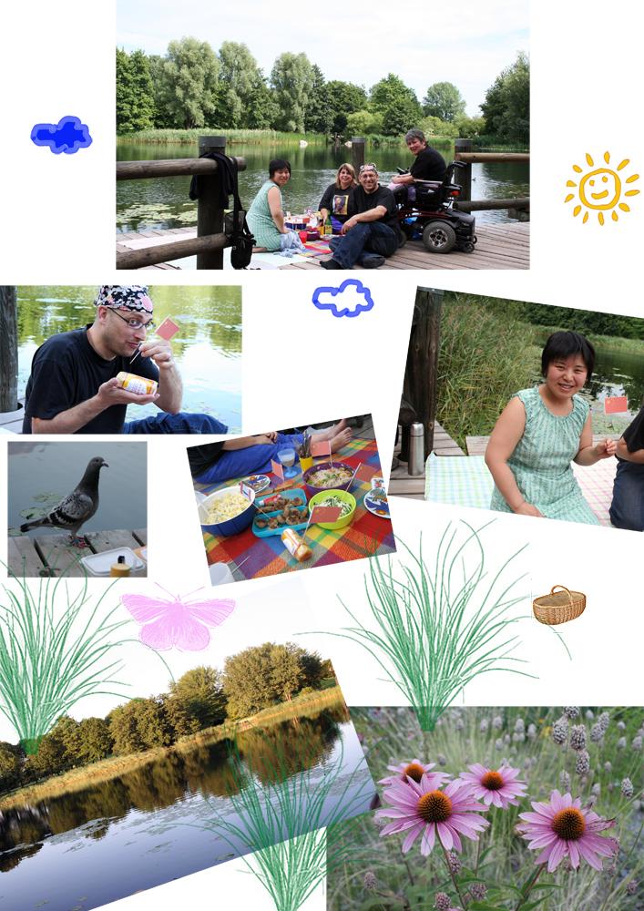 Picknick im Britzer Garten