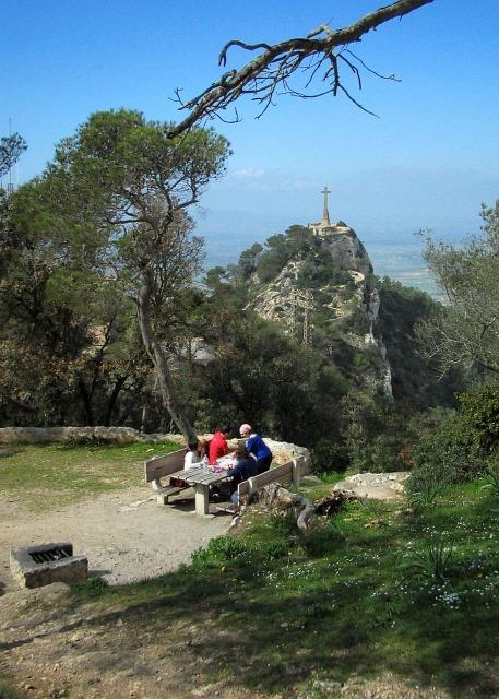 Picknick mit Aussicht