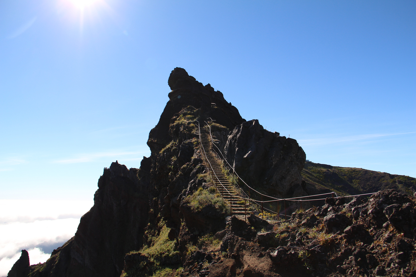 Pico Arieiro, der Weg in den Himmel