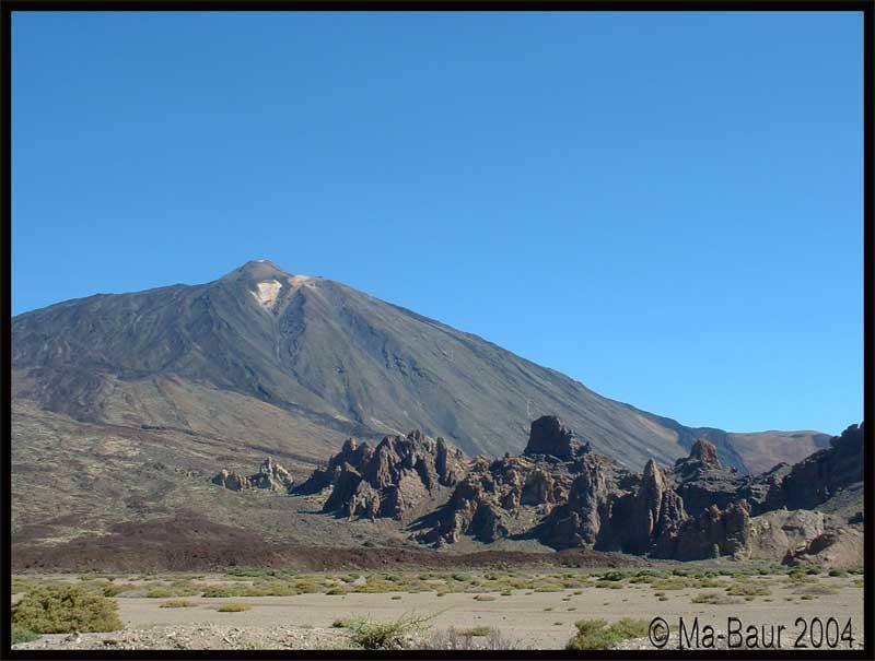 Pico del Teide, muß natürlich sein