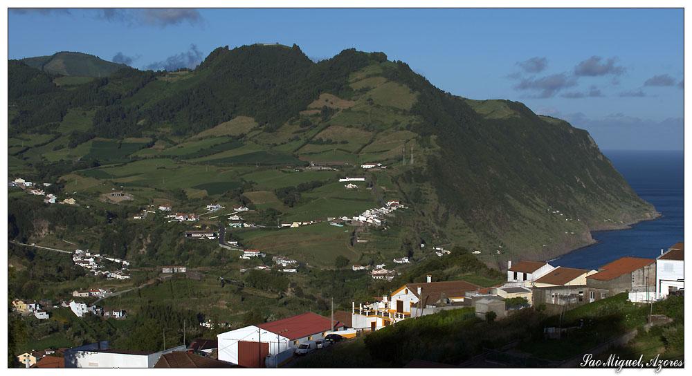 Pico dos Bodes oberhalb Povoacao (Sao Miguel, Azoren)