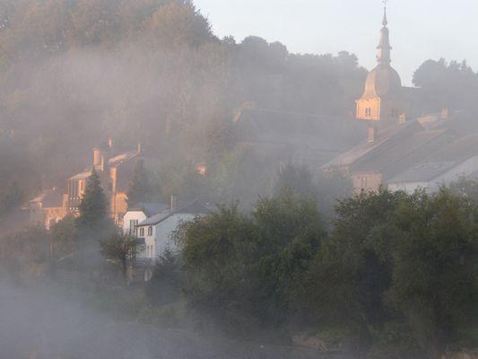 Piégé dans la brume